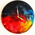 ساعت رزینی کهکشان