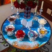 میز رزینی دریا