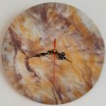 ساعت رزینی مرمر